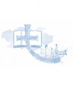 Imagem bíblia com cruz