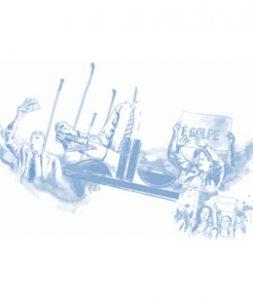 Imagem com Dilma em desenho